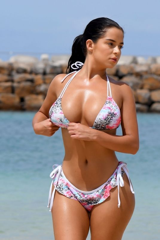 DEMI ROSE MAWBY in Biniki at a Beach in Cape Verde 06/13/2018