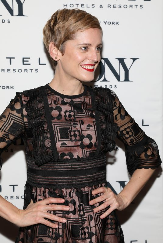 DENISE GOUGH at Tony Honors Cocktail Party in New York 06/04/2018