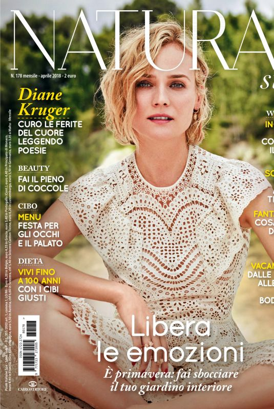 DIANE KRUGER in Natural Style Magazine, April 2018