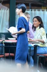 DIANNA AGRON at Al Fresco Restaurant in New York 06/14/2018
