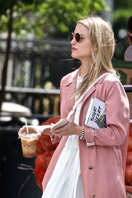 DIANNA AGRON Out and About in New York 06/15/2018