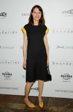 DOLLY WELLS at Boundaries Screening in New York 06/11/2018