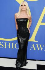 DONATELLA VERSACE at CFDA Fashion Awards in New York 06/05/2018