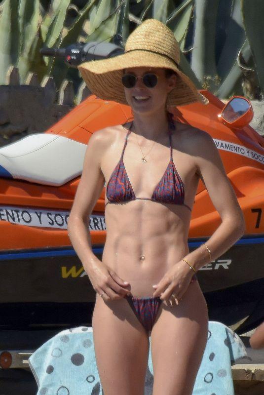 DOUTZEN KROES in Bikini at a Beach in Ibiza 06/21/2018