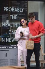 DUA LIPA and Isaac Carew Out in New York 06/21/2018