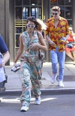 DUA LIPA Out and About in New York 06/19/2018