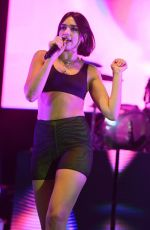 DUA LIPA Performs at Bayfront Park Amphitheater in Miami 06/12/2018