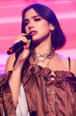 DUA LIPA Performs at KTU Concert at Jones Beach in New York 06/17/2018