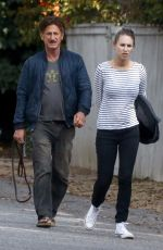 DYLAN and Sean Penn Out in Malibu 06/18/2018