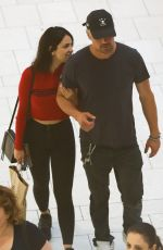 EIZA GONZALEZ and Josh Duhamel Out in Los Angeles 06/23/2018