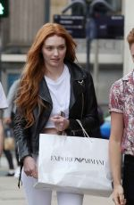 ELEANOR TOMLINSON Out and About in Leeds 06/08/2018