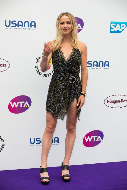 ELINA SVITOLINA at WTA Tennis on the Thames Evening Reception in London 06/28/2018