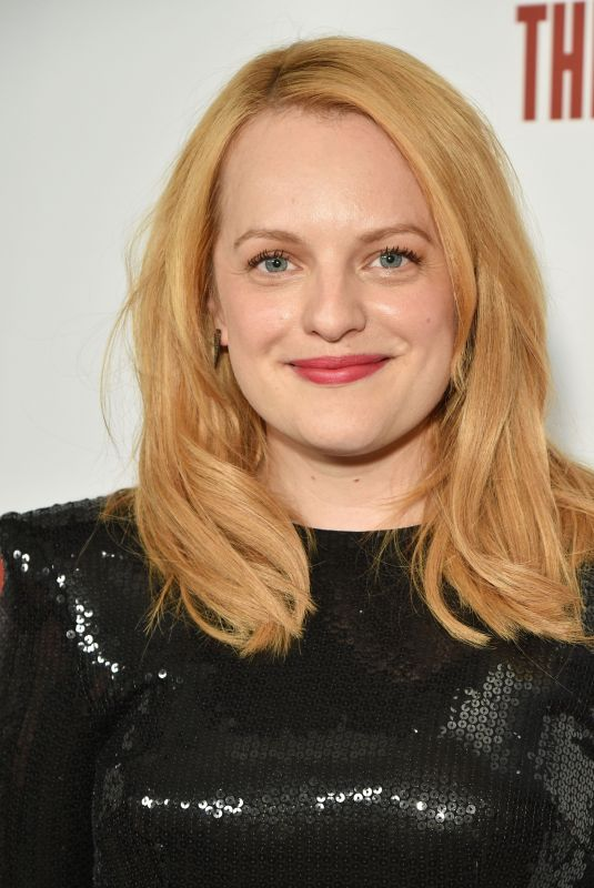 ELISABETH MOSS at The Handmaid