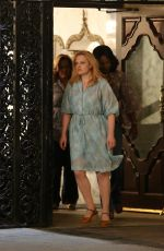 ELISABETH MOSS on the Set of The Kitchen in Brooklyn 06/22/2018