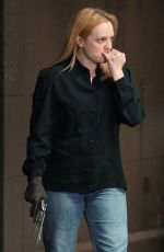 ELISABETH MOSS on the Set of The Old Man and the Gun in New York 06/06/2018