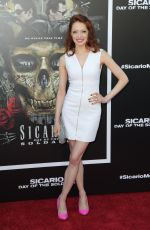 ELIZABETH CARLISLE at Sicario: Day of the Soldado Premiere in Los Angeles 06/26/2018