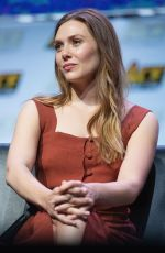 ELIZABETH OLSEN at Ace Comic-con at Wamu Theater in Seattle 06/23/2018