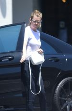 ELLEN POMPEO Out and About in Los Angeles 06/01/2018