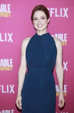 ELLIE KEMPER at Unbreakable Kimmy Schmidt FYC Event in New York 06/03/2018