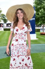 ELODIE FONTAN at Prix de DIane Longines 2018 in Chantilly 06/17/2018