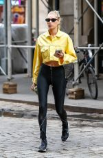 ELSA HOSK Leaves a Gym in New York 06/11/2018