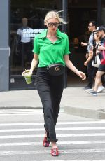ELSA HOSK Out and About in New York 06/05/2018