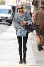 ELSA HOSK Out in New York 06/11/2018