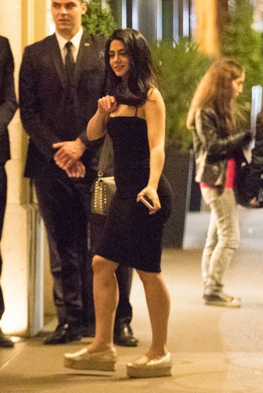 EMERAUDE TOUBIA Arrives at Her Hotel in Paris 06/18/2018