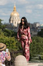 EMERAUDE TOUBIA Out and About in Paris 06/18/2018