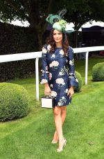 EMILY BLACKWELL at Investec Derby Festival Ladies Day at Epsom Racecourse 06/01/2018
