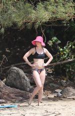 EMILY BLUNT in Bikini at a Beach in Hawaii 06/01/2018