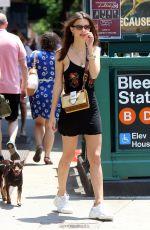 EMILY RATAJKOWSKI and Sebastian Bear-McClard Out on Little Italy in New York 06/09/2018