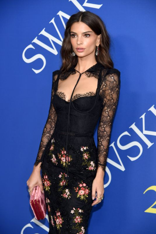 EMILY RATAJKOWSKI at CFDA Fashion Awards in New York 06/05/2018