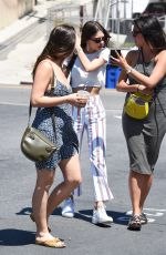 EMILY RATAJKOWSKI Out for Lunch with Friends in Los Angeles 06/13/2018
