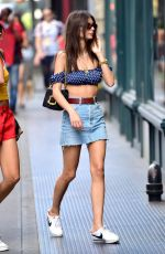 EMILY RATAJKOWSKI Out Shopping in New York 06/20/2018