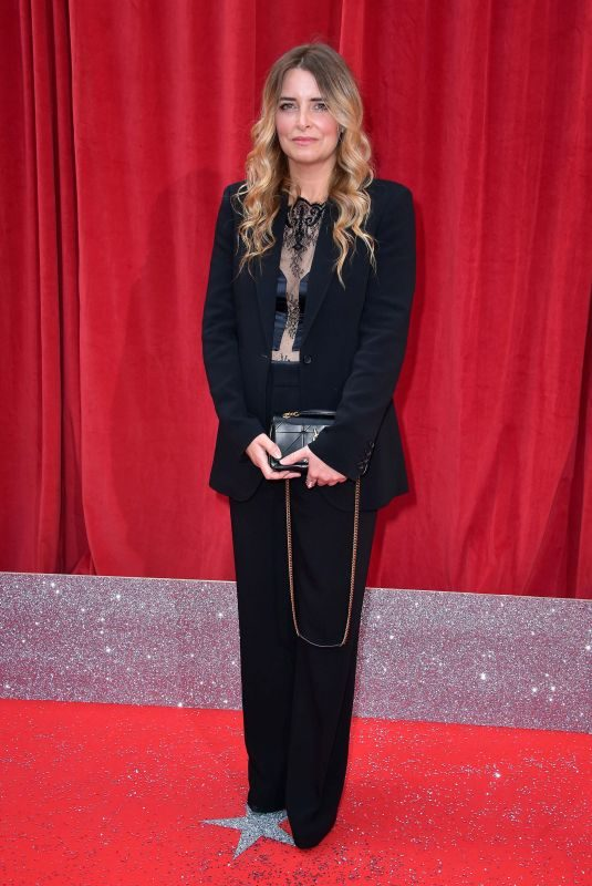 EMMA ATKINS at British Soap Awards 2018 in London 06/02/2018