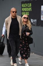 EMMA BUNTON and Jade Jones Out in Manchester 06/10/2018