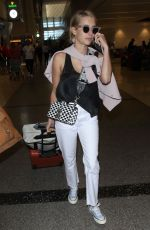 EMMA ROBERTS at Los Angeles International Airport 06/27/2018