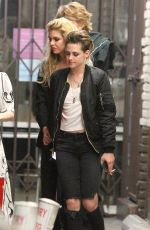 EMMA ROBERTS, KRISTEN STEWART and STELLA MAXWELL Night Out in Hollywood 06/09/2018