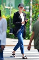 EMMA STONE Out and About in New York 06/11/2018