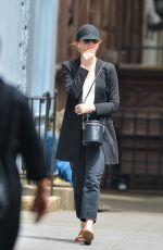 EMMA STONE Out and About in New York 06/26/2018