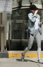 EMMA STONE Out in New York 06/09/2018