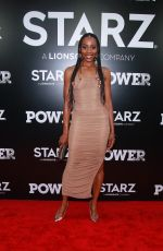 ERICA ASH at Power Season 5 Premiere in New York 06/28/2018
