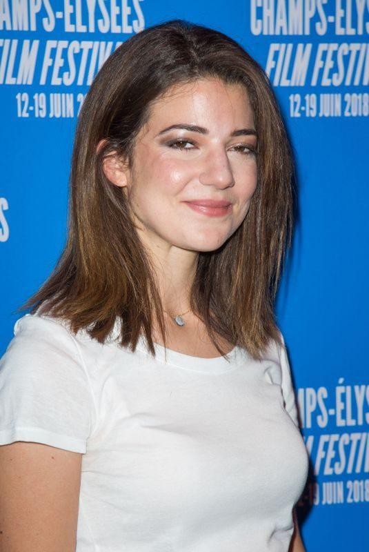 ESTHER GARREL at 7th Champs Elysees Film Festival in Paris 06/19/2018