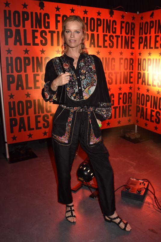 EVA HERZIGOVA at Hoping for Palestine 2018 in London 06/04/2018
