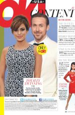 EVA MENDES and Ryan Gosling in Ok Magazine, July 2018