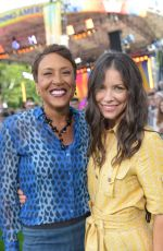 EVANELINE LILLY at Good Morning America in New York 06/22/2018