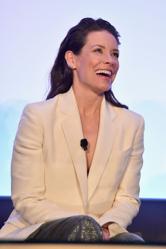 EVANGELINE LILLY at Ant-man and the Wasp Press Conference in Los Angeles 06/24/2018