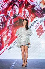 EVANGELINE LILLY at Ant-man and the Wasp Press Conference in Taipei 06/12/2018