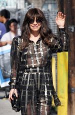 EVANGELINE LILLY at Jimmy Kimmel Live in Hollywood 06/20/2018